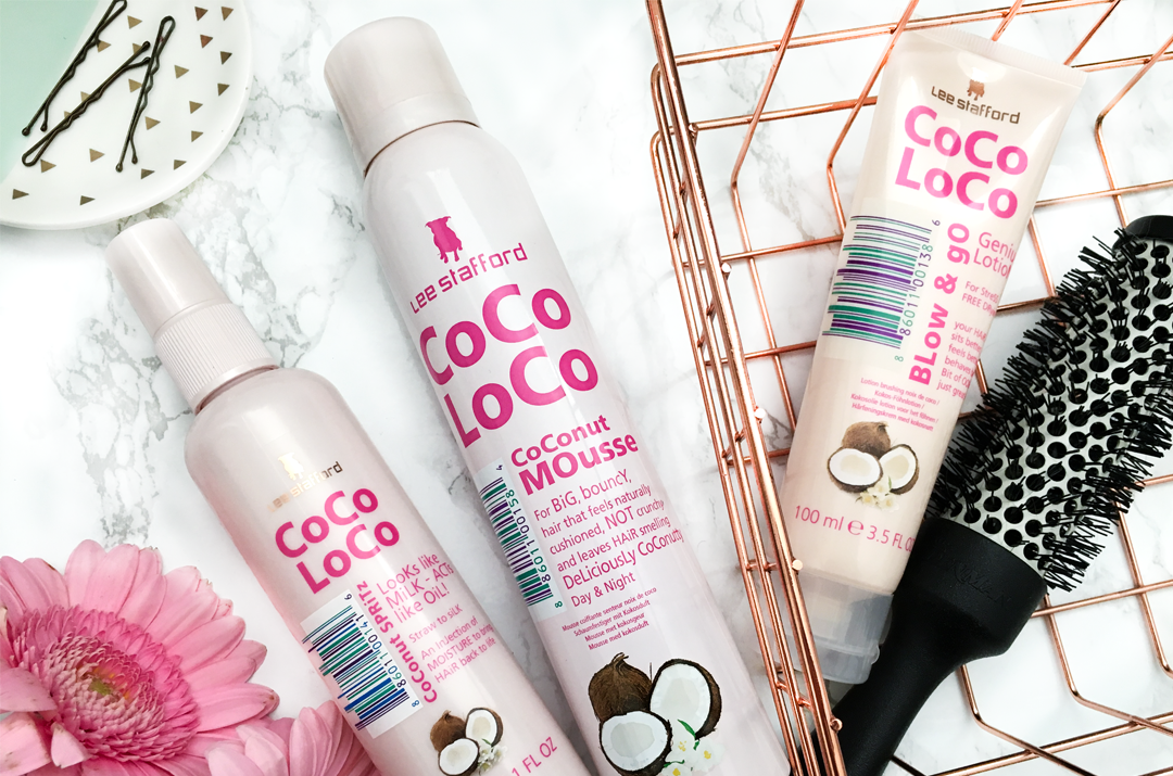 Lee Stafford Coco Loco Hair Products