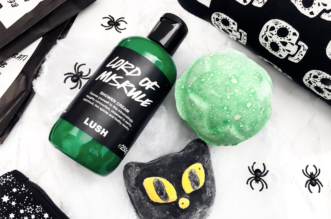 Lush Lord of Misrule Shower Cream & Bath Bomb. Bewitched Bubble Bar.