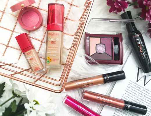 Bourjois Metallic Lip Creams and Makeup
