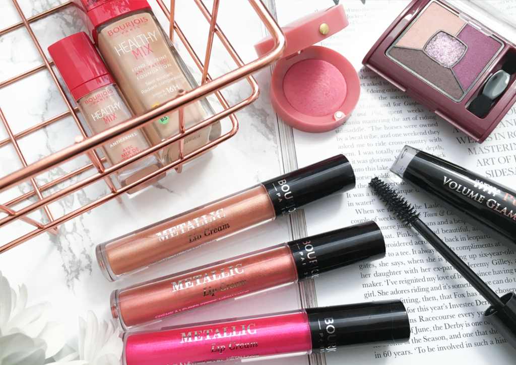 Bourjois Metallic Lip Creams and Makeup