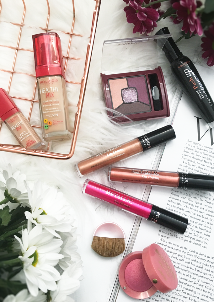 Bourjois Makeup and Metallic Lip Creams