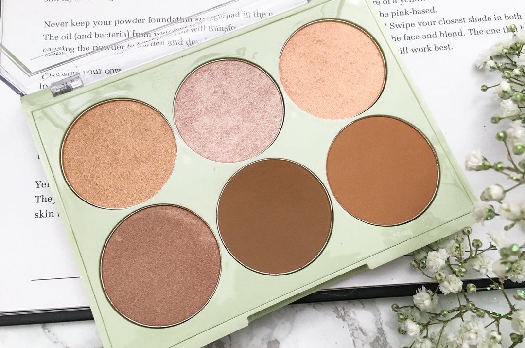 Pixi makeup Bronze and Glow Maryum Maquillage palette