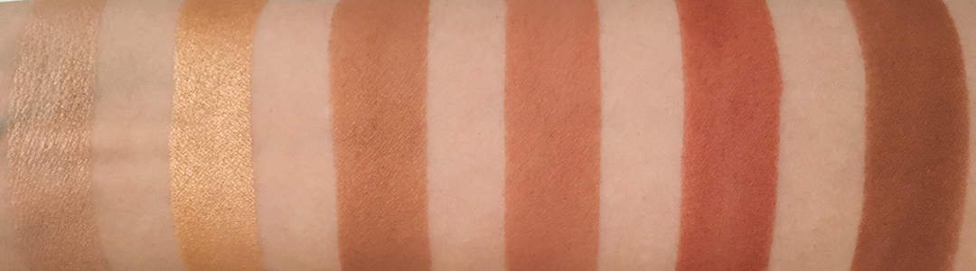 Pixi Its Judy Time Itseyetime Eyeshadow palette swatches