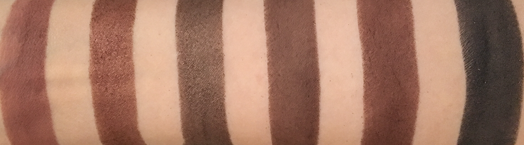 Pixi Its Judy Time Itseyetime Eyeshadow palette swatches part 2