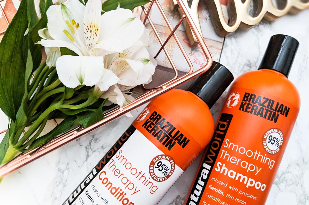Natural World Brazilian Keratin Shampoo & Conditioner