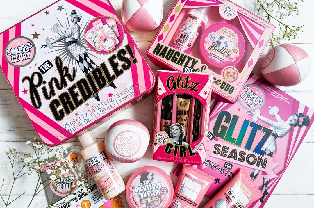 Soap and Glory Glitz the Season Christmas Gift sets 2018